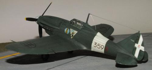 Reggiane Re.2001 - Supermodel 1/72